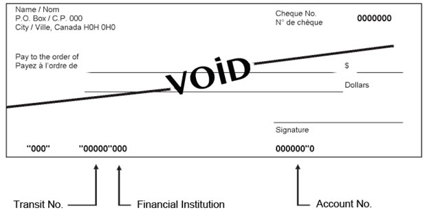 direct deposit form canada  Direct deposit | National Research Council Canada