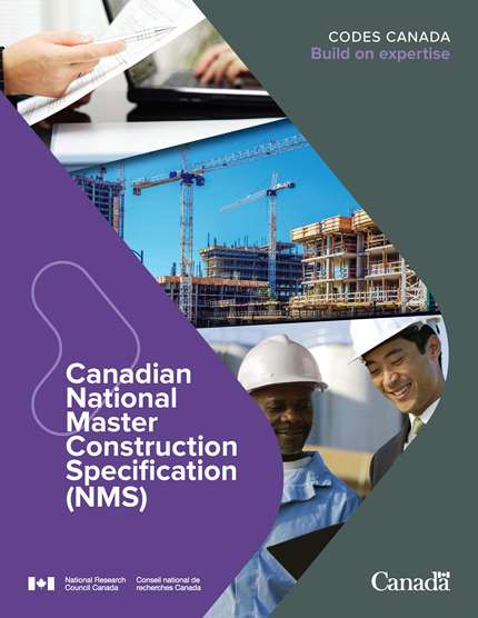 Canadian National Master Construction Specification (NMS) report cover