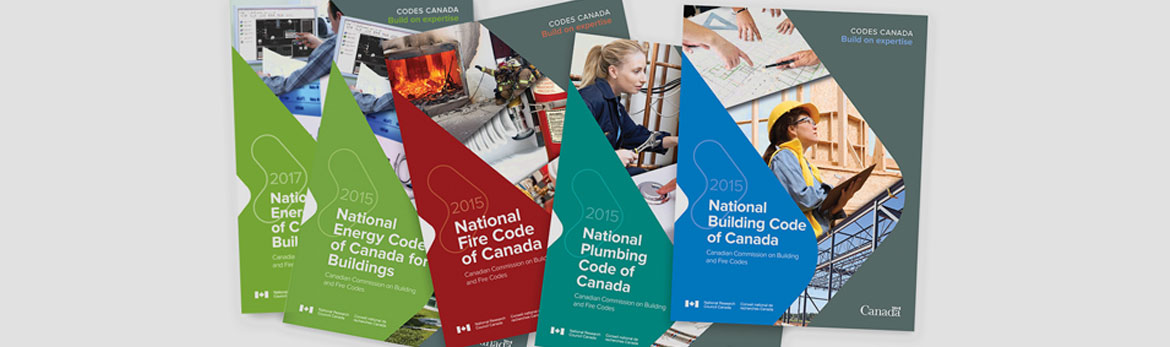 Revisions and errata to the 2015 editions of Codes Canada publications