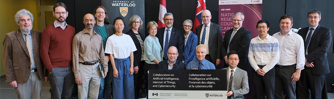Lancement du Centre de collaboration CNR-Waterloo