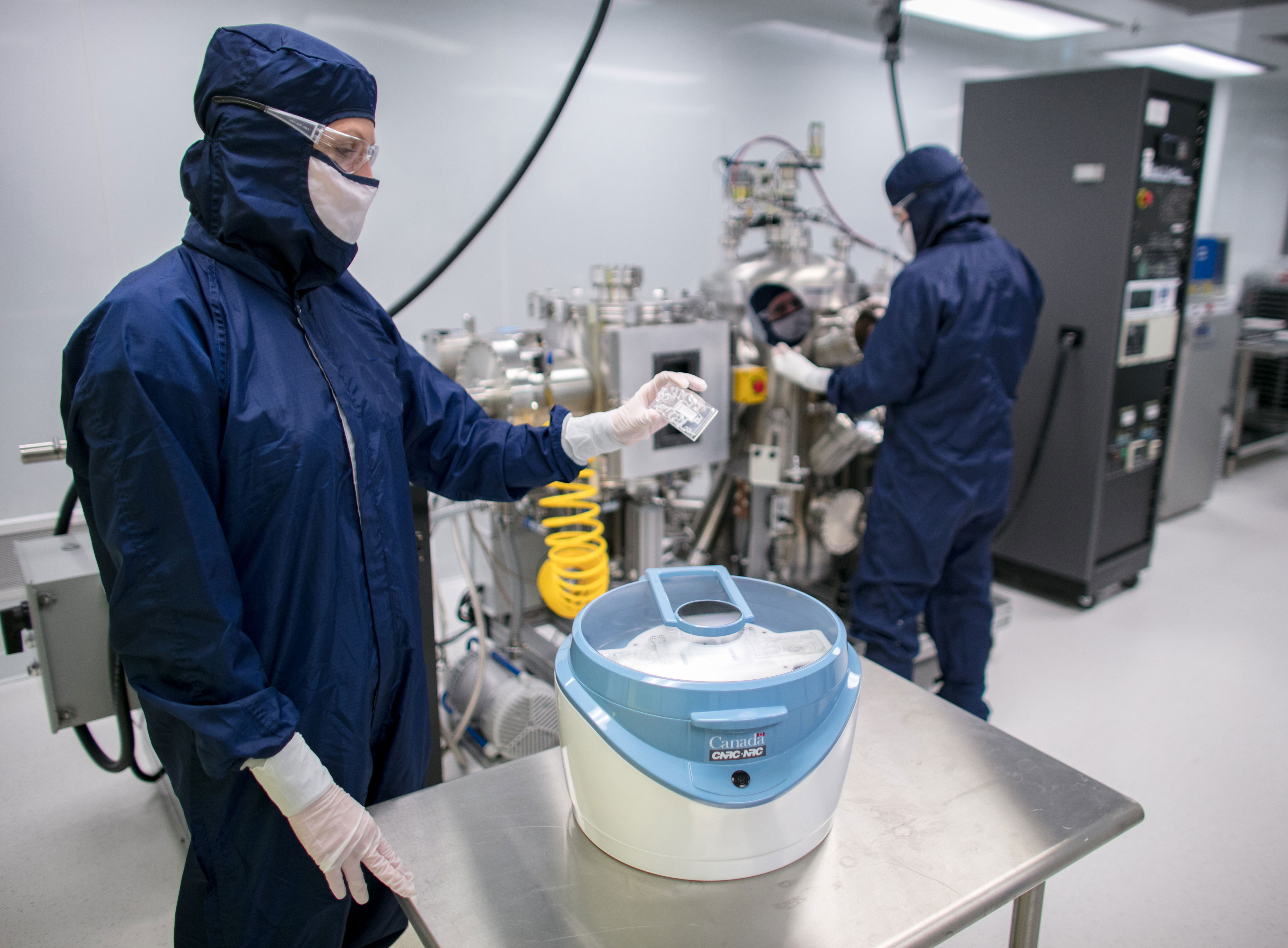 The NRC's bioanalytical device fabrication facility